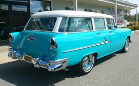 1955 Chevrolet Bel Air 4 Door Station Wagon