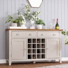 sideboard with wine rack. Delighful Wine Chester Grey Painted Oak 2 Door Large Sideboard With Wine Rack  And O