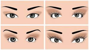 types of eye makeup styles choice image eye makeup steps
