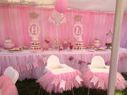 1st birthday party decorations princess twincess birthday theme tutu high chair decorations with name banners