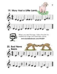 Clarinet Finger Chart Mary Had A Little Lamb Clarinet Finger Chart Mary Had A Little Lamb Mary Had A
