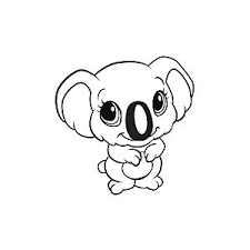 learning friends koala coloring printable