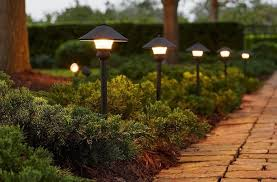 hampton bay low voltage bronze outdoor integrated led light kit