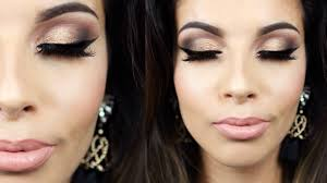 holiday party makeup tutorial 2016
