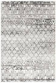 blue white geometric rug dark grey tribal pattern