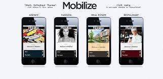 A Mobilize Jquery Mobile Wordpress Theme Review Web