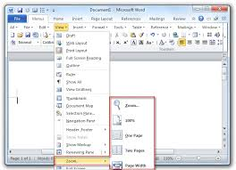 microsoft word menus where is the zoom in microsoft word 2007 2010 2013 and 2016