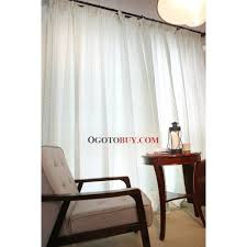 simple sheer lineate white cotton curtains white sheer within white sheer cotton curtains image