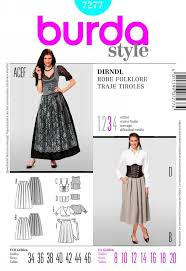 Burda Patterns Unique Burda 48 From Burda Patterns Is A Dirndl Sewing Pattern Trachten