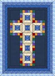 Jewel Cross-Christening Quilt-mltpl sz | Christian, Patterns and Free & Free Christian Quilt Patterns - Bing Images Adamdwight.com