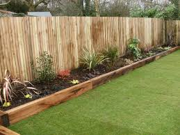 the garden is the most astonishing part of the home and every wooden garden borders