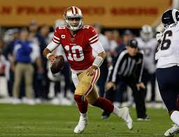 49er Lights 49ers Jimmy Garoppolos Clutch Play Is Anything But A Fluke