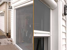 garage door screen systemShy Zip screen system by Glide Screen
