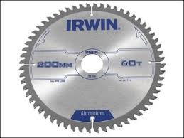 irwin metal cutting blade. the irwin aluminium/non-ferrous metal circular saw blades are specially designed for cutting all types of non-ferrous metals such as aluminium copper lead blade