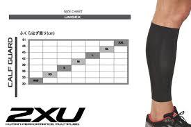 2xu Unisex Men Gap Dis Elite Mcs Compression Calf Guard Elite Mcs Compression Calf Guard Calf Tights