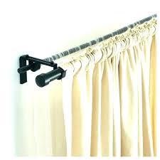 black matte curtain rod shower tension curved adjule mat