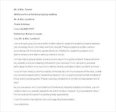 Notice To Tenant To Make Repairs Rental Agreement Letter A Landlord Tenant Template And Forms End Of