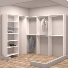 Wood closet shelving Particle Board Demure Design 8425 Pinterest Closet Systems Organizers Youll Love Wayfairca