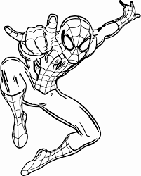 Coloring spiderman can be a little tough because there are a lot of intricacies in his appearance. Coloring Pages For Kids Spiderman Spiderman Coloring Superhero Coloring Pages Avengers Coloring Pages