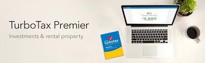 Turbotax Comparison Chart 2017 Turbotax Premier Tax Software 2017 Fed Tiendamia Com