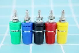 M4X36 <b>pure</b> copper terminal <b>4mm</b> banana <b>Jack</b> Socket 20A binding ...