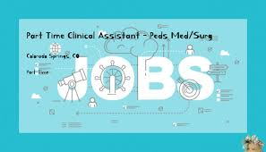 Clinical Assistant Jobs Part Time Clinical Assistant Peds Med Surg Childrens Hospital
