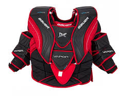 Bauer Goalie Chest Protector Size Chart Bauer Vapor 1x Senior Goalie Chest Arm Protector 2017