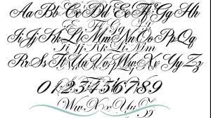 tattoo script lettering 22 tattoo letter fonts think down town kc