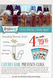 never have to clean hair out of your tub again drainwig giveaway giveaway unclogthedrain grossphotos arv 19 95
