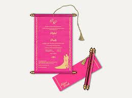 wedding invitation cards online 10 money saving ideas! Wedding Cards Online Purchase Mumbai pink scroll wedding cards wedding cards online mumbai
