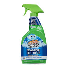 foaming bathroom cleaner with bleach