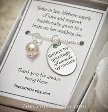sister of the groom necklace sil2 sister in law necklace maid of honor necklace sister of the groom gift bridesmaid jewelry