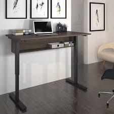 Digital 30x60 Height Adjustable Table- Antigua Brown