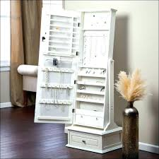armoires large standing jewelry armoire large jewelry storage full size of bedroom design mirror in
