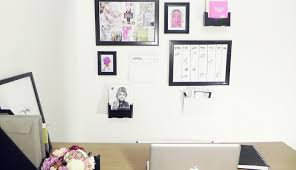 imagine create achieve with officeworks create an organised wall