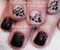 DIY Easy Fall Nails | 2 Easy Autumn Short Nail Art Design Tutorial ...