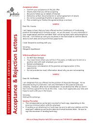 Sample Rejection Letter For Job Edit Fill Sign Online Handypdf