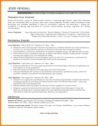 Resume Objective For Paralegal Download Paralegal Resume Objective 100 Immigration Sample 100 Legal 38