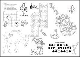 Free printable coloring pages for kids! Activity Coloring Pages For Kids Page 1 Line 17qq Com