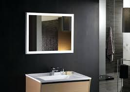 modern bathroom mirrors with lights. Modern Contemporary Bathroom Mirrors Bathrooms Design Mirror Ideas . With Lights O