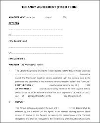 Simple Tenancy Agreement Template Printable Sample Room Rental Form ...