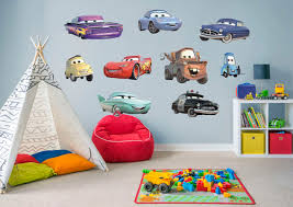 disney pixar cars collection large officially licensed removable wall graphics fathead wall decal