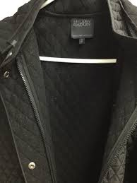 Hilary Radley Quilted Jacket/Coat. Black. Size M. [122854351548 ... & Hilary Radley Quilted Jacket/Coat. Black. Size M. Adamdwight.com