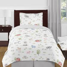 farm animals collection twin bedding