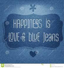 Le Bonheur Est Amour Et Blues Jean Fond Typographique De Citation