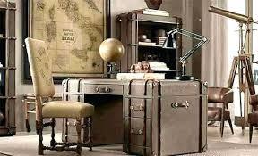 vintage home office desk. Vintage Office Desk Chairs Furniture Wood For Home Made . O