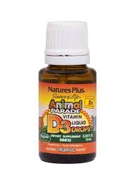 Shop Nature's Plus <b>Source Of Life Animal</b> Parade Vitamin D3 Liquid ...