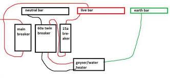 geyser wiring diagram Geyser Thermostat Wiring Diagram install timer in db board with inline breaker doityourself com geyser element wiring diagram