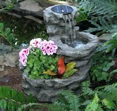 modren solar fountainsoutdoor solar water fountains braintumortreatment small fountain pump rock garden standing wall features corner intended outdoor a