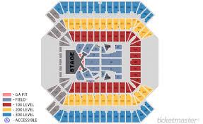Taylor Swift Raymond James Seating Chart Taylor Swifts Reputation Stadium Tour Tampa Sports Authority